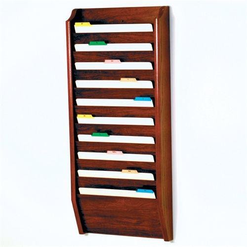 Wooden Mallet CH17-10-MH Wall-Mounted File Holder