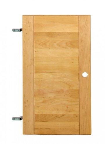 BioKinder 22168 Lara Tür Regaltür rechts/Links aus Massivholz Erle, Maße:200 cm