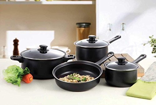 7 Pc Professional Quality Nonstick Carbon Steel Cookware Set - - Express Vision Glasses Repair