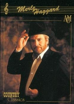 Merle Haggard trading card (Country Music) 1992 Collect-A-Card Country Classics #70