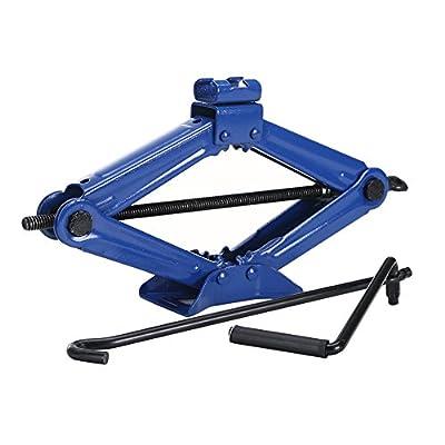 BAISHITE 2 TON Scissor Jack Car Jacks, Blue