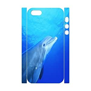 C-Y-F-CASE DIY Dolphin Pattern Phone Case for iPhone 5,5S