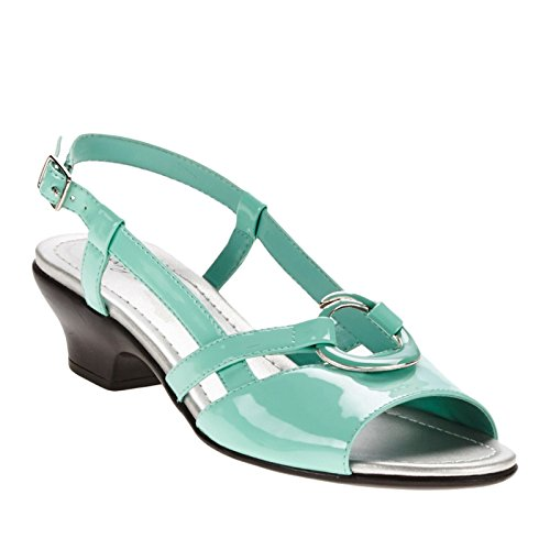 Easy Street Tempe vestido sandalias de la mujer Seamist