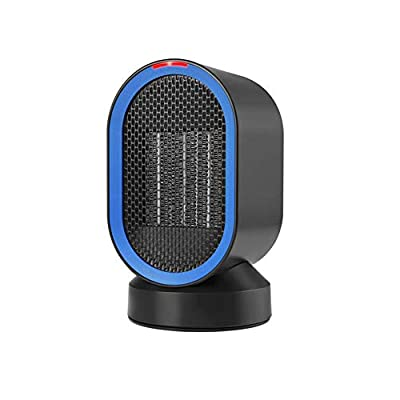 Air Conditioners CJC Electric Heaters Oscillating Ceramic 600W Portable Fan Personal Natural Wind Over-Heat Tip-Over Protection