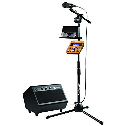 Emerson Karaoke System (Singtrix Party Bundle Premium Edition Home Karaoke System with 2 Microphones)