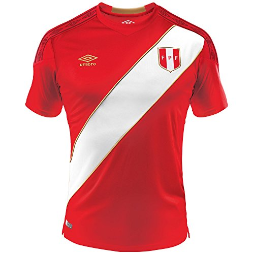 08ad2d81097 Umbro Peru Away Soccer Jersey World Cup 2018 Authentic Original (Medium)
