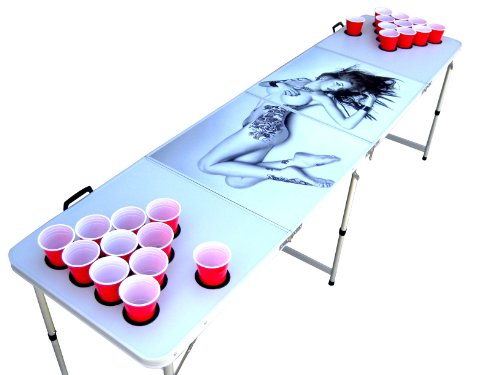 tattoo beer pong table - 6