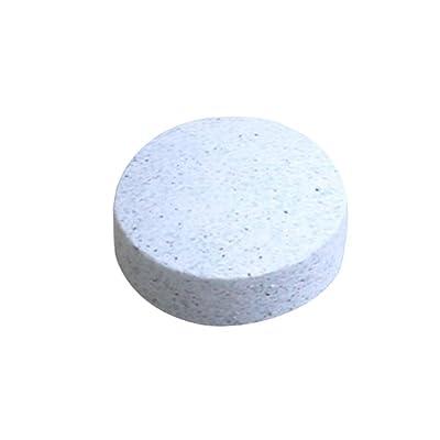 collectsound 10pcs Pare-Brise en Verre Cleaner effervescent Lessive Tablette-Blanc