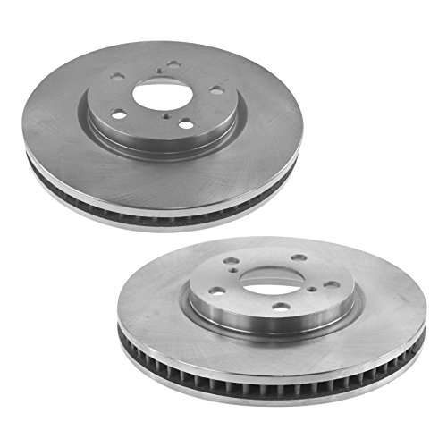 Brake Rotor Front Driver & Passenger Side Pair for Lexus GS300 IS250