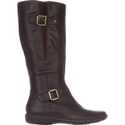 Born Womens Austin Closed Toe Over Knee Riding Boots, Brown, Size 7.5