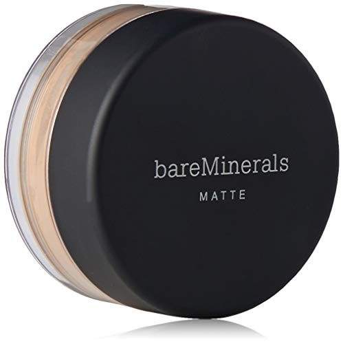 Bare Escentuals bareMinerals Matte Foundation SPF 15 N20 Medium Beige for Women, 0.05 Ounce
