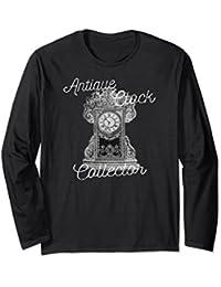 Antique Clock Collector Horologist Long Sleeve Shirt