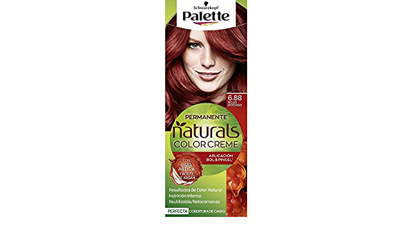 Palette Palette Natural Tinte #6.88-Rojo Intenso 110 ml ...