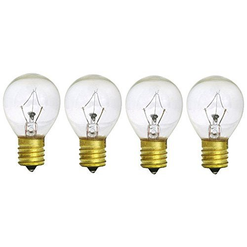 Replacement Bulbs for Lava Lite 5025-6 25 Watt 14.5-Inch Lava Lamps, 4-Bulbs