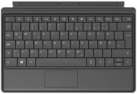 Microsoft Type Cover 2 Inglés Negro Teclado para móvil - Teclados para móviles (Negro, Microsoft, Surface, Surface 2, Surface Pro, Surface Pro 2, ...