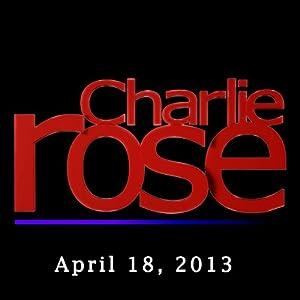 Charlie Rose: John Miller and Palaniappan Chidambaram, April 18, 2013 Radio/TV Program
