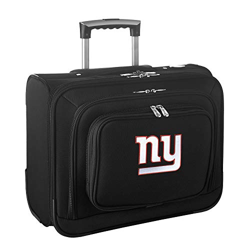 NFL New York Giants Wheeled Laptop Overnighter