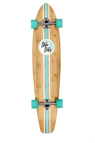Ten Toes Board Emporium Zed Bamboo Longboard Skateboard for sale  Delivered anywhere in USA