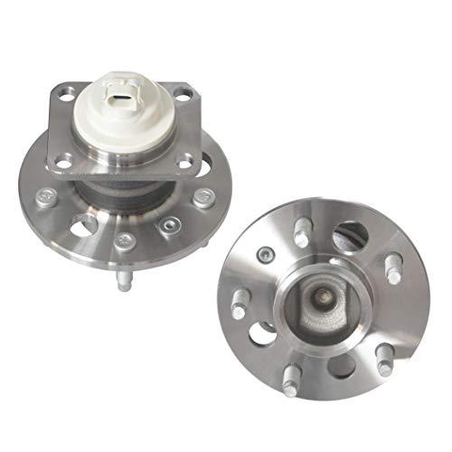 IRONTEK Rear Wheel Hub Bearing & Hub Assembly 5 Lugs w/ABS for Chevrolet Impala/Venture/Monte Carlo/Uplander, Pontiac Grand Prix/Montana/Aztek, Buick Regal/Allure/Century/Lacrosse 512150x2 (2 PCS)