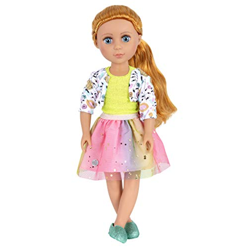 Glitter Girls by Battat - Shimmer Glimmer Urban Top and Tutu Regular Outfit - 14 inch Doll Clothes and Accessories for Girls Age 3 and Up – Children's Toys ()