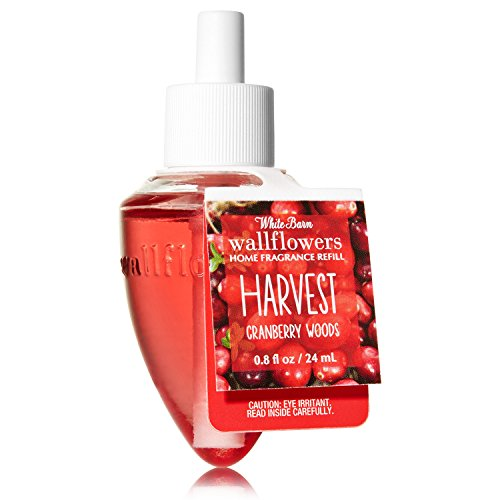 Bath & Body Works Wallflowers Fragrance Refill Bulb HARVEST Cranberry Woods