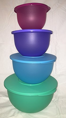 Tupperware impressions 4pc bowl set