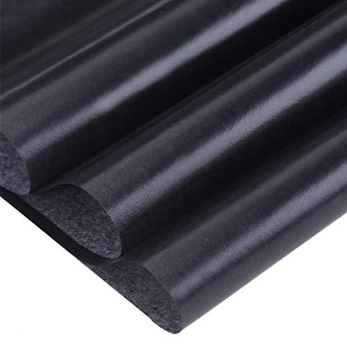Yeelan 100 fogli in carbonio carta di grafite tracing copia documenti con penna per stilo goffratura 5pcs per legno//Carta//Argilla e altre superfici artistiche A4::21X30cm//9x13,nero