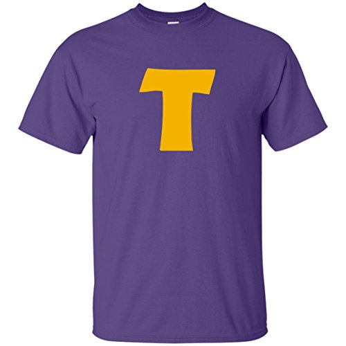 (Token's Purple 'T' T-Shirt)