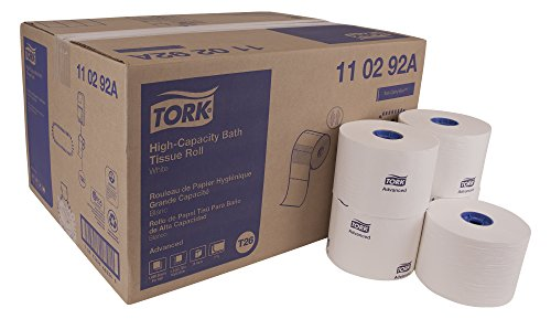 Tork Advanced 110292A High Capacity Bath Tissue Roll, 2-Ply, 3.94