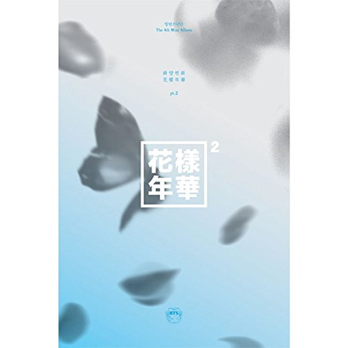 BTS BANGTAN BOYS KPOP 4th Mini Album In The Mood For Love PT.2 [Blue Ver.] CD + Photobook + Photocard + Gift (4 Photocards Set)