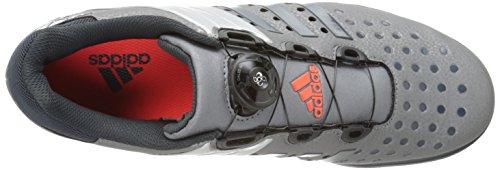 Adidas Ydeevne Røderende Vægttræning Sko, Jern Metallisk Grå / Mørkegrå / Sølv, 4 M Os Grå