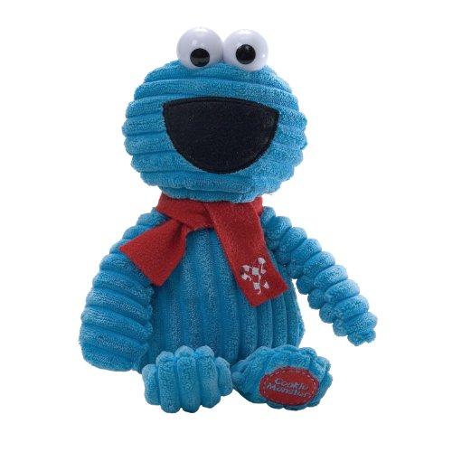 Gund Sesame Street Holiday Corduroy Cookie Monster 11