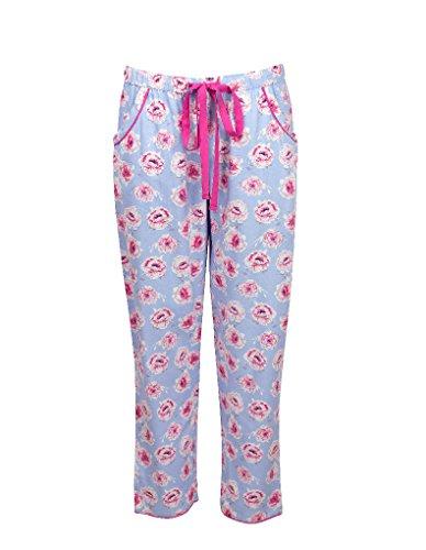 Cyberjammies Floral Fun Cotton Blue Print Pant 0735