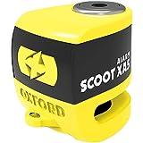 Oxford LK287 Yellow/Black Scoot XA5 Alarm Disc Lock