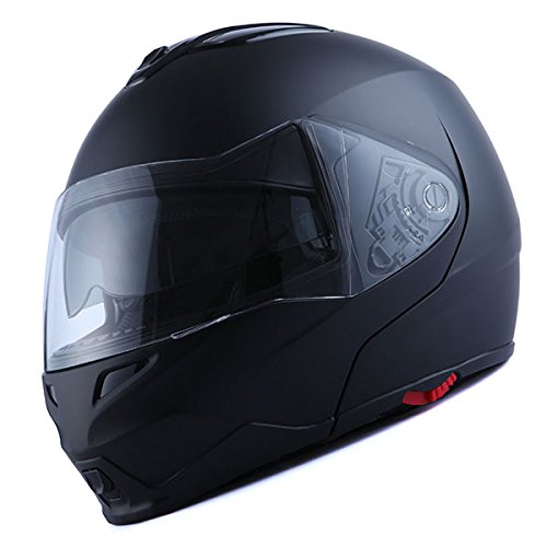 1Storm Motorcycle Street Bike Modular/Flip Up Dual Visor Sun Shield Full Face Helmet Review