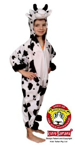 Safari Plush Costume Medium Cow (Cow Costume For Kids)