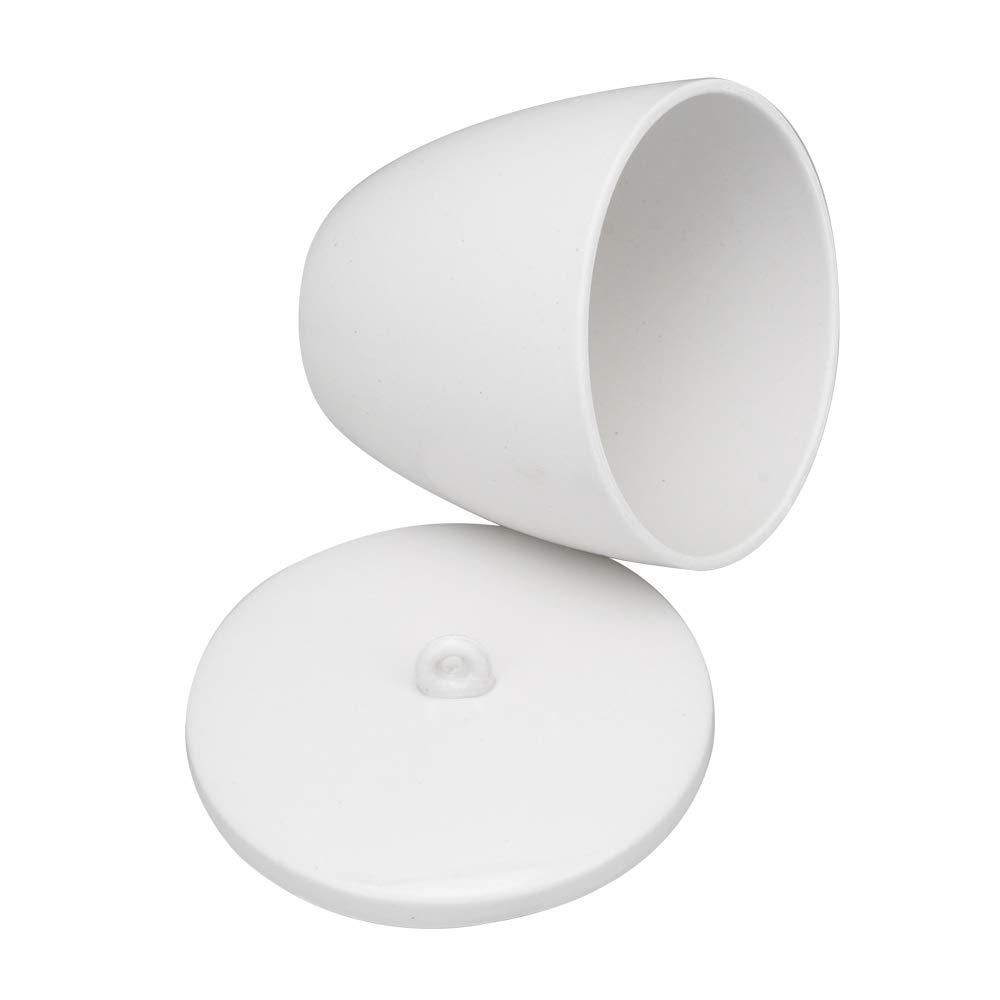 Mxfans Creuset en c/éramique haute temp/érature avec couvercle pour four /à muffle 300 ml