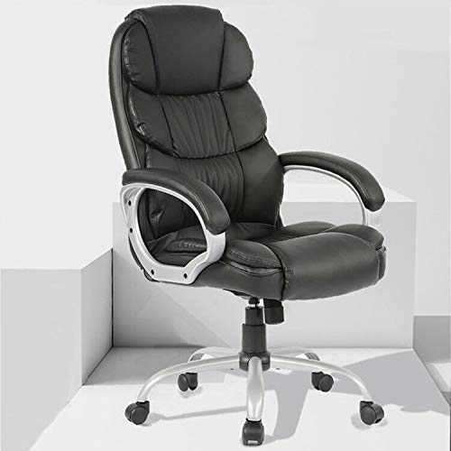 Office Desk Chair Ergonomic Swivel Executive Adjustable Task Computer Chair High Back Office Desk Chair with Back Support in Home Office BMS