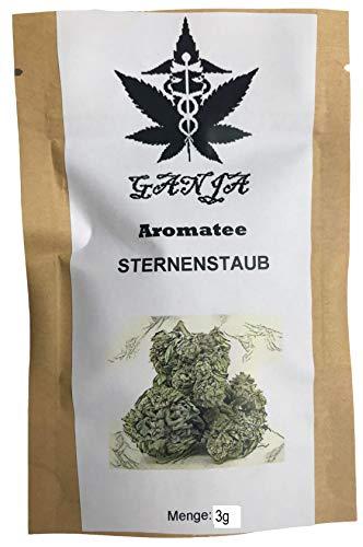 """GANJA Aroma-Tee """"NEU"""" STARDUST 3g (3 Gramm) I Spitzen Qualität I Deutsches Zertifikat wird mitgeschickt I Made in Österreich I Natürliches Produkt I Gewachsen im Reinraum I Neutrale-Verpackung"""
