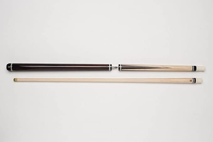 DBJ-001 Break//Jump-Queue f/ür Poolbillard mit Kunststoff-Ferrule und Hochwertiger G10-Pommeranze lackierter Griffbereich