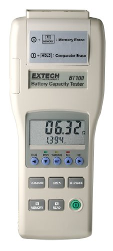 - Extech BT100 Battery Capacity Tester