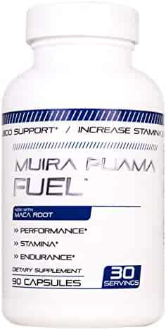 Muira Puama Fuel Male Enhancing Pills (1 Month Supply) - Enlargement Booster for Men - Increase Size, Strength, Stamina - Energy, Mood, Endurance Boost All Natural Performance Supplement - Made in USA