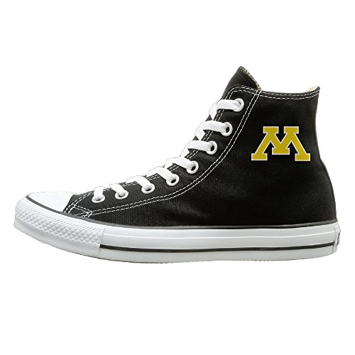 [Friday University Of Minnesota Golden Gophers Exclusive Canvas Shoes] (Gopher Costumes)