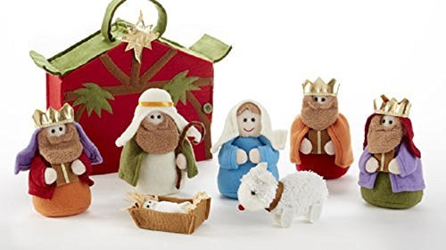 Delton Products 8 x 3.5 x 10' Felt Nativity Set in Bag