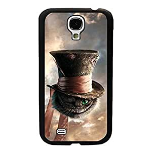 SamSung Galaxy S4 Mini Funda Case, Disney Alice In Wonderland Mad Hatter Galaxy S4 Mini Personality Snap-On Durable Plastic Funda Case For Guys