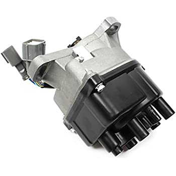 EDCA 250 43U New Complete Ignition Distributor With Cap Rotor For 1992 95 Honda Civic EX Sedan Coupe 2nd Generation JDM ZC 16L Only TD TD43U