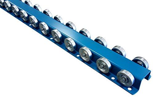 (Conveyor Rails | Flow Rail 5′ Long Skate Wheel Conveyor | T3P Flow Rack System)