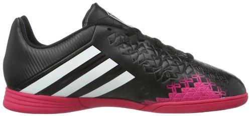 adidas Performance Predito Lz In J F32578 Kinder Sportschuhe - Fitness Schwarz (BLACK 1 / RUNNING WHITE FTW / VIVID BERRY S14)