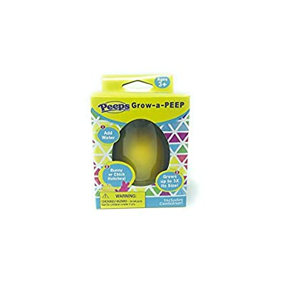 Peeps Grow-a-PEEP (Yellow): Toys & Games