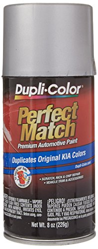 Dupli-Color BKA0002 Satin Silver Metallic Kia Perfect Match Automotive Paint - 8 oz. Aerosol